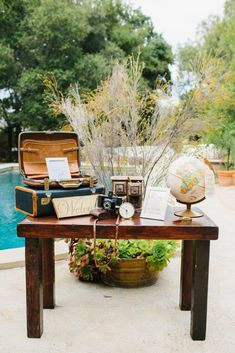 A Travel Themed Wedding at The Mountain Mermaid - Feathered Arrow Wedding Planning