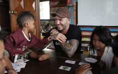 The former footballer and Unicef Goodwill Ambassador launched a new fund with   the charity help protect vulnerable children earlier this year.