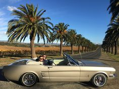 A nice afternoon for a cruise in the Mustang, made all that much better when Michael popped the question.... and Amber said yes. Congratulations to you both.