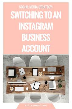 Social Media Strategy: Switching to an Instagram Account   There are pros and cons to switching to an Instagram business account. Several experts weigh in on whether it's worth it to switch over to an Instagram business account as a fashion blogger.
