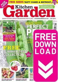 Kitchen Garden - July 2013