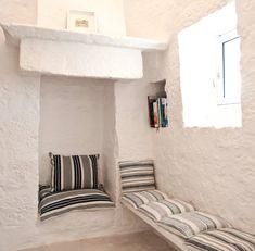Interior Design for houses in Puglia and restored trulli