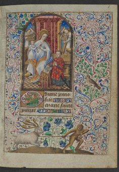 Book of Hours Simon de Varie. French ca. 1455, J Paul Getty Museum (not currently on display)