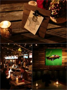 Classic Car Themed 50th Birthday Party at Chicken Scratch | Event Planner: DFW Events | Photo: Jason Kindig
