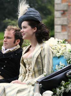 Michelle Ryan as Maria Bertram in Mansfield Park (2007).