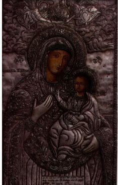 All-Holy Virgin Drossianí, Naxos island, Greece. Jesus Christ, Buddha, Greece, Angel, Statue, Flowers, Art, Greece Country, Art Background