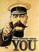 First World War Recruitment Poster w/ Lord Kitchener World War One, First World, Ww2 Posters, Propaganda Art, Wwi, Art Google, Vintage Posters, Dollhouse Miniatures, History