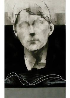 Buy Prints of Untitled, a mixed media on Paper by Michał Janowski from United Kingdom. It portrays: People, relevant to: painting, people, portrait, janowski, charcoal, human nature, drawing, face, human 59x42 cm
