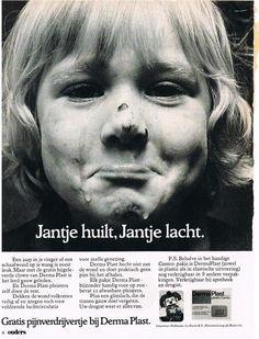 Derma Plast pleisters 1970's vintage reclame