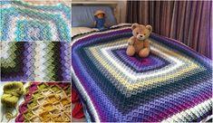 Bavarian Or Wool Eater Stitch Baby Afghan Crochet, Afghan Crochet Patterns, Crochet Motif, Crochet Designs, Crochet Blankets, All Free Crochet, Diy Crochet, Crochet Crafts, Crochet Projects