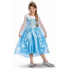 Disney Frozen Elsa Halloween Costume