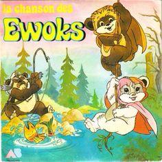 Sur la planète Andor personne n'ignore qu'ils sont les plus forts, solides comme des rocks et fiers comme des coqs, les petits Ewoks ! <3 love love love it <3