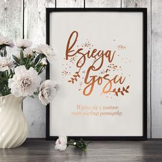 Księga gości, Plakat ślubny - LovelyDecor - Dekoracje ślubne Weeding, Art Quotes, Groom, Wedding Day, Scrapbooking, Bride, Diy, Ideas, Decor
