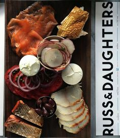 Russ & Daughters Cafe, Lower East Side, New York City