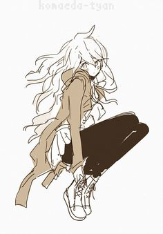 Komaeda why you have to be so beautiful as a girl?