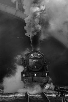 full steam ahead...