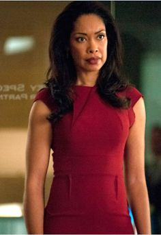 "Jessica's Roland Mouret Brownlow V-Back Dress Suits Season 2, Episode 1: ""She Knows"""