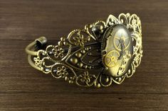 Steampunk Jewelry Made From Old Watch Parts By Lithuanian Artist | Bored Panda