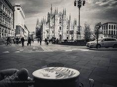 Popular on 500px : Cappuccino al fresco by svoskamp