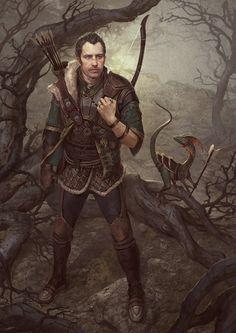 Arrow Retriever (Ranger) by GerryArthur.deviantart.com on @DeviantArt