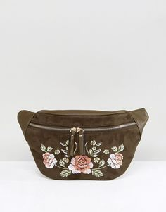 New Look Festival Embroidered Fanny Pack
