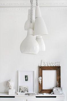 white pendants