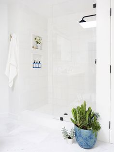 This Popular Bathroom Trend Is Killing It on Pinterest—Would You Try It? via @MyDomaine