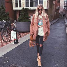 Edgy Outfits, Winter Fashion Outfits, Mode Outfits, Fall Winter Outfits, Autumn Winter Fashion, Winter Clothes, Winter Looks, Winter Style, Rock And Roll