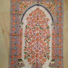 Handmade prayer mat