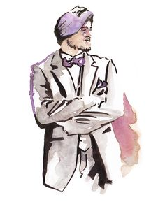 Daily Fashion Illustration 66. Monday, November 25. 2013  Style Submitted by Hira Toor. -instagram user @ibhangra 'I got inspired from SinghStreetStyle. My turban is biggest part of my style, it makes me stand out. A king is crowned once in his lifetime. A Singh is crowned everyday.'