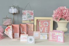SEI - Promise Me Shadow Box and Envelope Album Class Kit - Window to My Love at Scrapbook.com $25.00