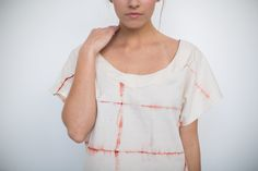 Temperate clothing is made with American grown organic cotton and non-toxic dyes derived from plants. All sewing and dyeing is done by hand, one piece at a time.
