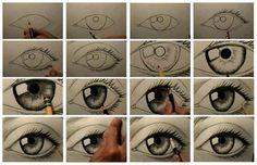occhi da disegnare come vuoi e come ti piace