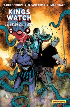 Jeff Parker Will Unite Flash Gordon, The Phantom, And Mandrake The Magician In Dynamite\'s Kings Watch Flash Gordon, Comic Book Characters, Comic Books Art, Comic Art, Comic Character, Arte Nerd, Anime Toon, Den Of Geek, Hq Marvel