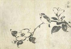 Tachibana Morikuni - Young Sparrow from the Unpitsu soga Moving Brus…
