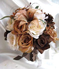 Brown Flowers on Pinterest | Yellow Flower Arrangements, White ...
