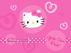 Hello Kitty Wallpaper for Computer | Free Desktop Wallpaper: Pink Hello Kitty Desktop Wallpapers