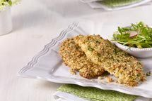 http://kosherfood.about.com/od/kosherpoultryrecipes/r/schnitzelnofry.htm  Baked Breaded Chicken... to make soon!