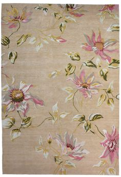 Paul Smith x The Rug Company - Passion Flower Rug Contemporary Rugs, Modern Rugs, Dining Room Paint, Childrens Rugs, Paint Stripes, Rug Company, Passion Flower, Expo, Rugs On Carpet