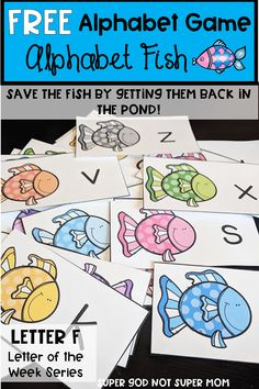 47 Ideas small group games kindergarten letter sounds for 2019 Ocean Activities, Alphabet Activities, Preschool Activities, Alphabet Phonics, Phonics Games, Abc Games, Alphabet Crafts, Free Preschool, Preschool Printables