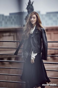 ee39e082a57 Jessica dons chic  Karl Lagerfeld  items in Berlin