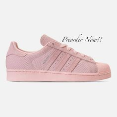 hot sale online f267f a0b60 Swarovski Women s Adidas Originals Superstar Pink Sneakers Blinged Out With  Authentic Clear Swarovski Crystals Custom Bling Adidas Shoes