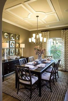 Unbelievable high end formal dining room furniture for your home dining room design Just How 10 Top Professionals Do a Formal Dining Room Dining Room Walls, Dining Room Design, Dining Room Furniture, Design Kitchen, Home Design, Design Ideas, Design Design, Kitchen Dining Living, Small Dining
