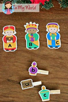 Christmas Nativity Preschool Centers Beginning sounds wise men and gifts matching activity Preschool Christmas Activities, Preschool Centers, Preschool Bible, Preschool Learning, Preschool Activities, Kindergarten Christmas, Kids Bible, Bible Activities, Winter Activities