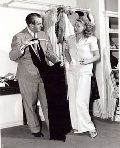 Orry-Kelly and Ann Sheridan