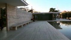 * Architecture: German Pavilion (aka Barcelona Pavilion) by Ludwig Mies van der Rohe