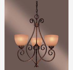 Minka Lavery Caspian 3 Light Mini Chandelier in Ceiling Lights, Chandeliers, Mini Chandeliers: ProgressiveLighting.com