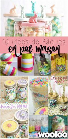 10 idées de Pâques inspirantes en pots mason