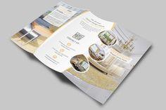 Classic Interior Trifold Brochure by Creative Design on @creativemarket