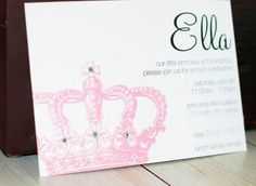 princess invites - for Emma's party?